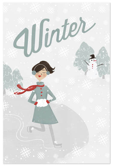 art prints - Winter Wonder by Pistols