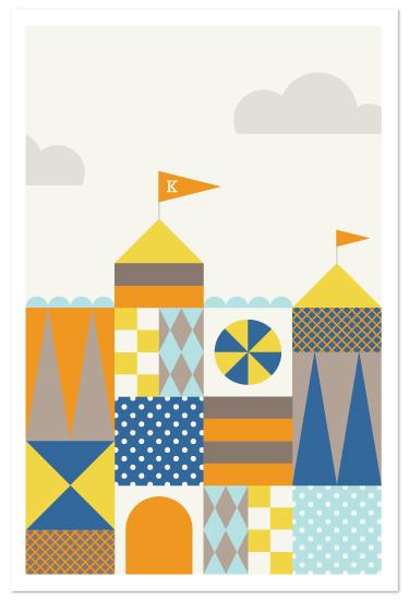 art prints - A Kid's Castle by Amber Barkley
