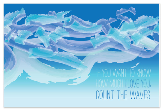art prints - Wavy Watercolor by toast events + design