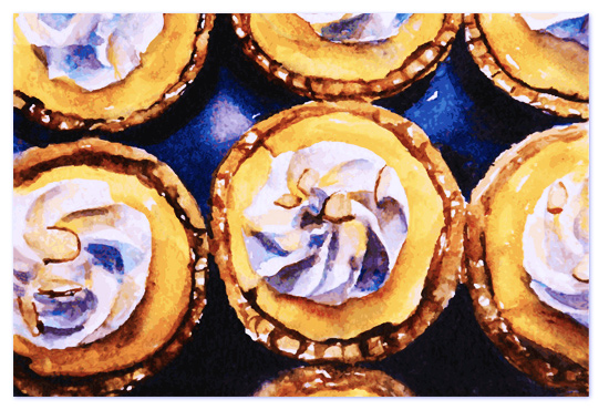 art prints - Lemon Tarts by Tate Design