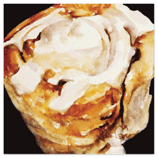 art prints - Sticky Bun by Tate Design