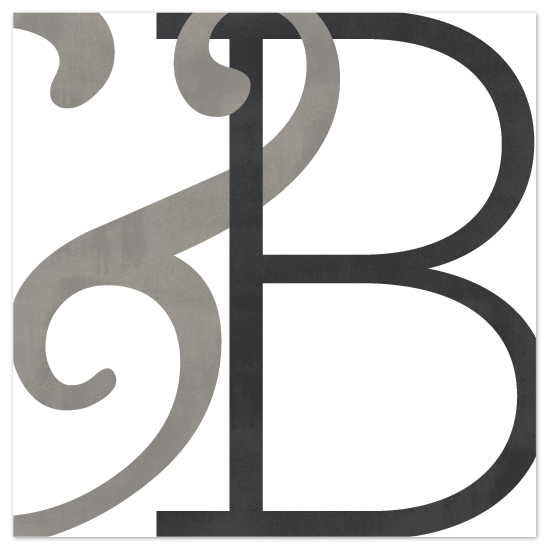 art prints - Monogram Diptych #2 by Hooray Creative