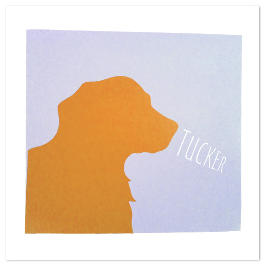 art prints - Graphic Dog by hobson studios