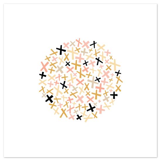 art prints - criss cross by annie clark