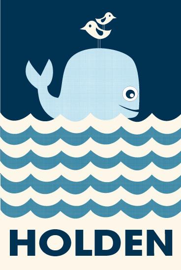 art prints - Ocean Whale by Creaform Design