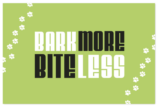 art prints - Bark More Bite Less by Ana Gonzalez