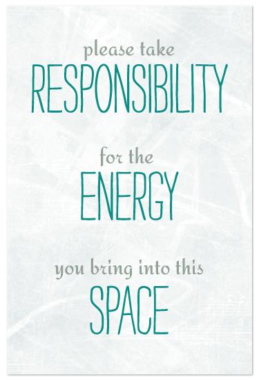 art prints - Take Responsibility by cmdesign