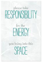 Take Responsibility by cmdesign