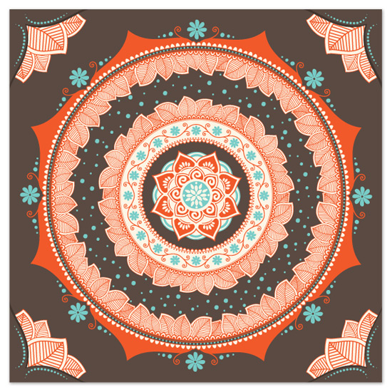 art prints - Rangoli by GeekInk Design