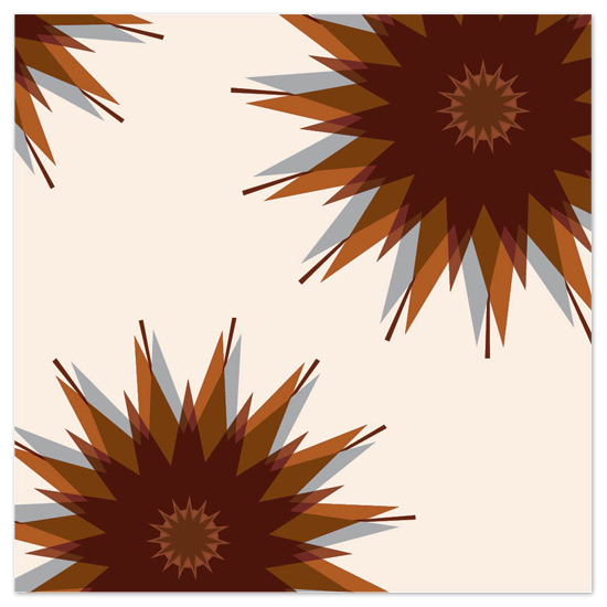 art prints - Mid-century Starburst by Allison Gaffney