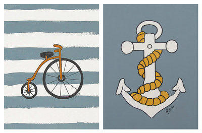 art prints - Boy Toys by Melanie Daily