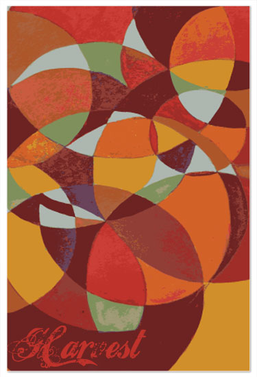 art prints - Harvest Circles by Raybo Design