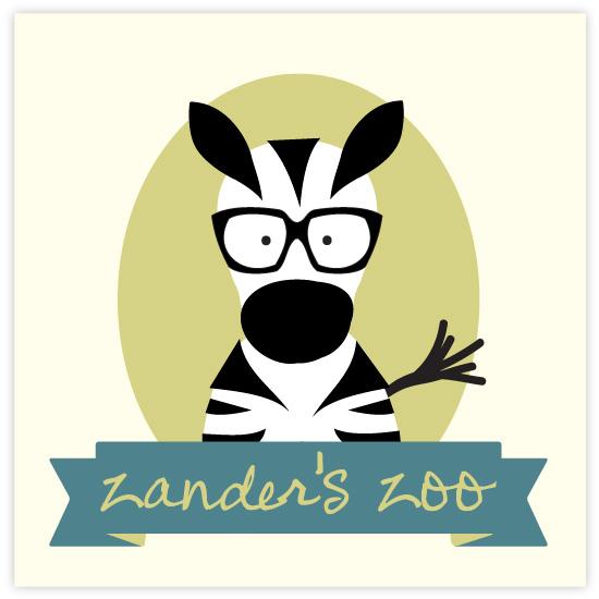 art prints - Zanders Zoo by feb10 design