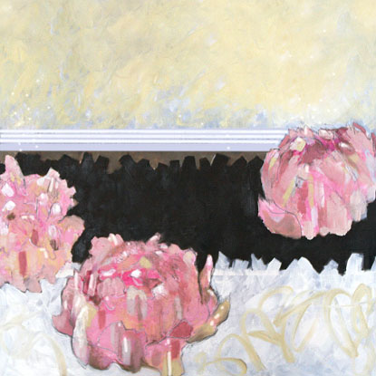 art prints - momentary peonies by Emma O Rourke