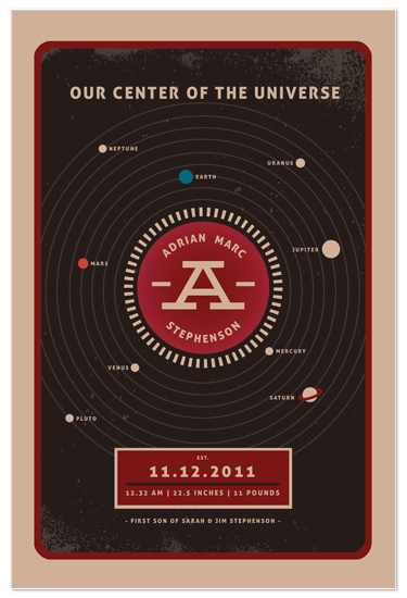 art prints - center of the universe by chocomocacino