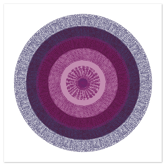 art prints - Study Circle by Leslie Phillips-Greco
