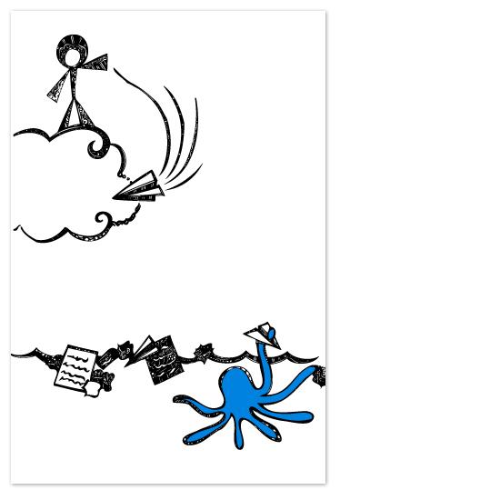 art prints - Paper Airplanes by ArtSplott