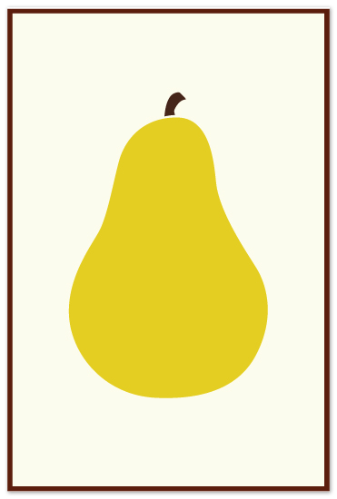 art prints - Heirloom Pear by Alexandra Stafford