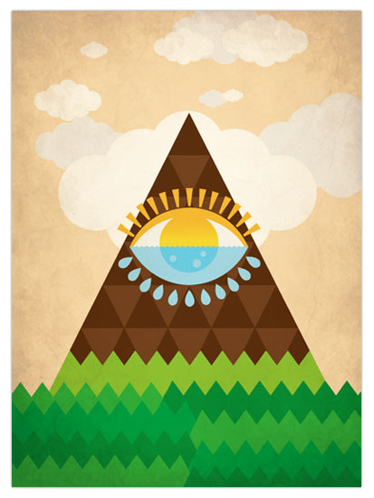 art prints - Eye of the Earth by Jacqueline Rivera
