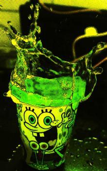 sponge bob green