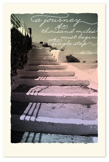 art prints - The Journey by Designkandy