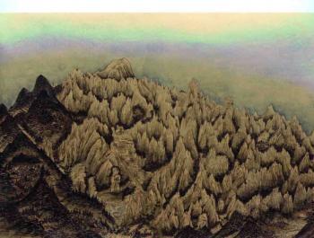 Extraordinary view of Mt. Geumgang - v2