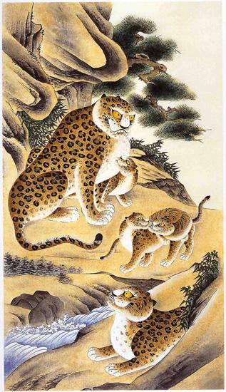 art prints - Tiger family by Kumoak Rang