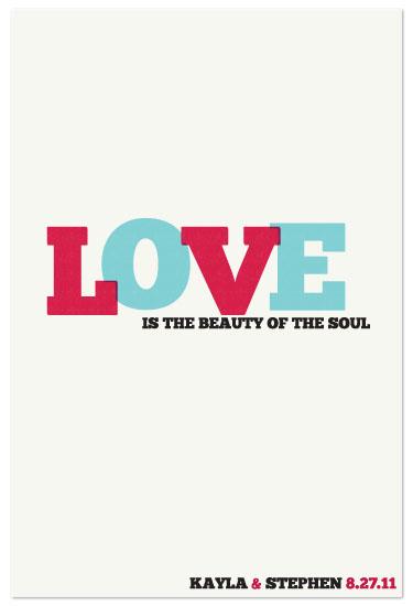 art prints - Love is the Beauty of the Soul by Kayla Gyorick