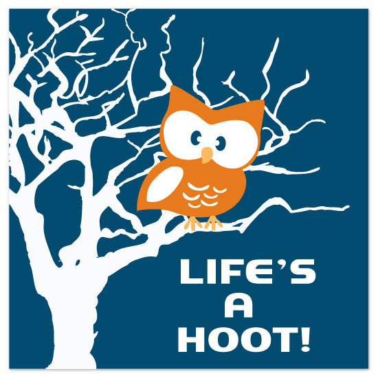 art prints - Life's a Hoot by Kayla Gyorick