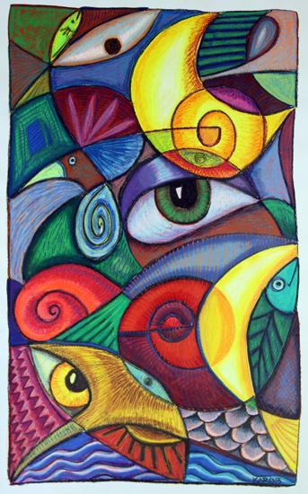 art prints - Visionary by Karob