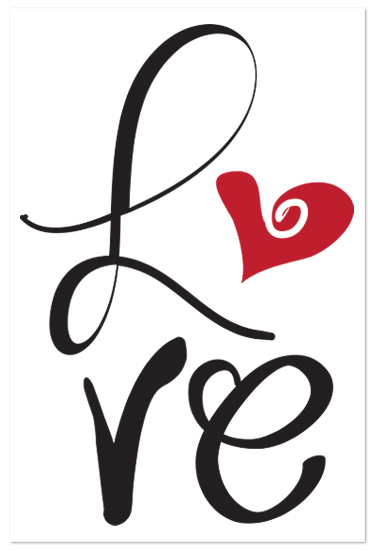 art prints - Love by Artsy Canvas Girl Designs