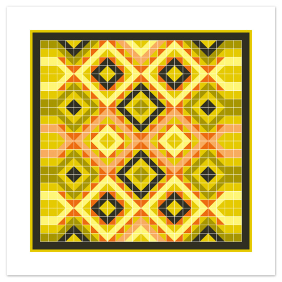 art prints - Quilting Bee by Jenean Morrison