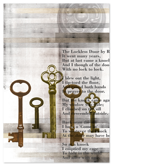 art prints - Key Poem by Max and Bunny