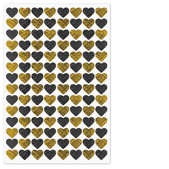 art prints - Lots of Hearts by Max and Bunny