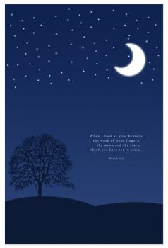 Moon and Stars Bible Verse
