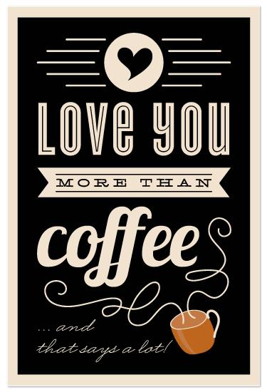 art prints - More Than Coffee by Lehan Veenker