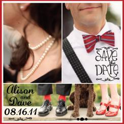 Vintage Classic Save the Date