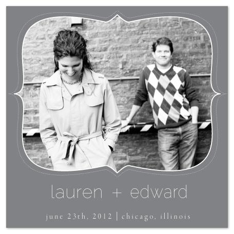 save the date cards - Bracket by Eddie