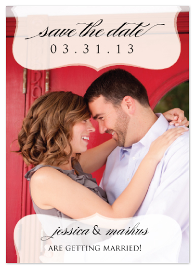 save the date cards - Modern Whimsy Save the Date by Stella Bella Invites