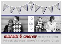 1950s Pennant Banner by Invites by Jen