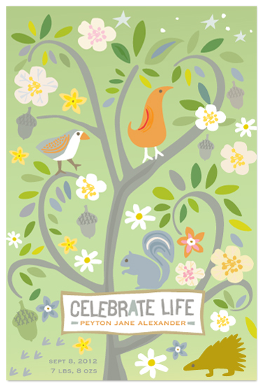 art prints - Celebrate Life by Griffinbell Paper Co.