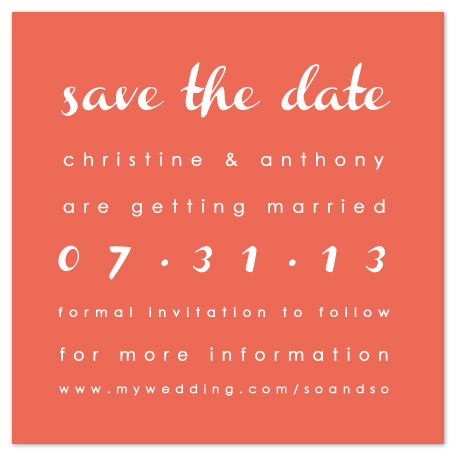 save the date cards - Bright Clean Modern by Stella Bella Invites