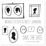 Silhouettes in Love by Lulubean Designs