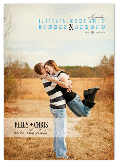 save the date cards - Simple Days by Susan Crispell