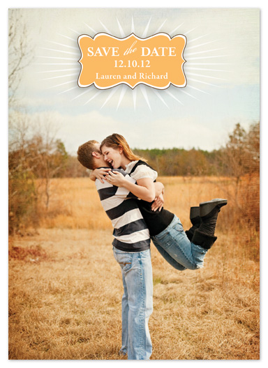 save the date cards - STARBURST by Sharon Kay Creative