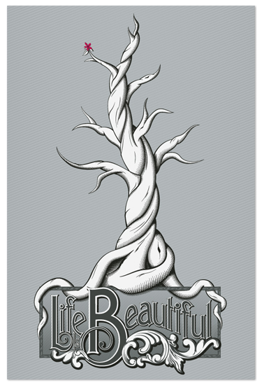art prints - Beautiful Life by GeekInk Design