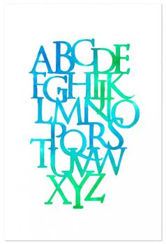 Alphabet Deluge