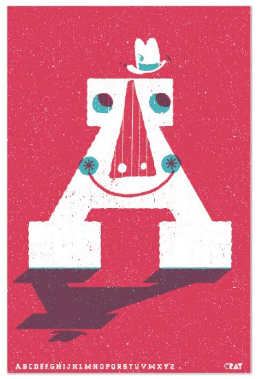 art prints - Mr. A by ERAY