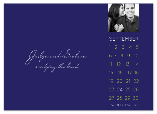 save the date cards - Calendar Days by Susan Crispell