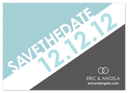 save the date cards - Inclined by Sharon Kay Creative